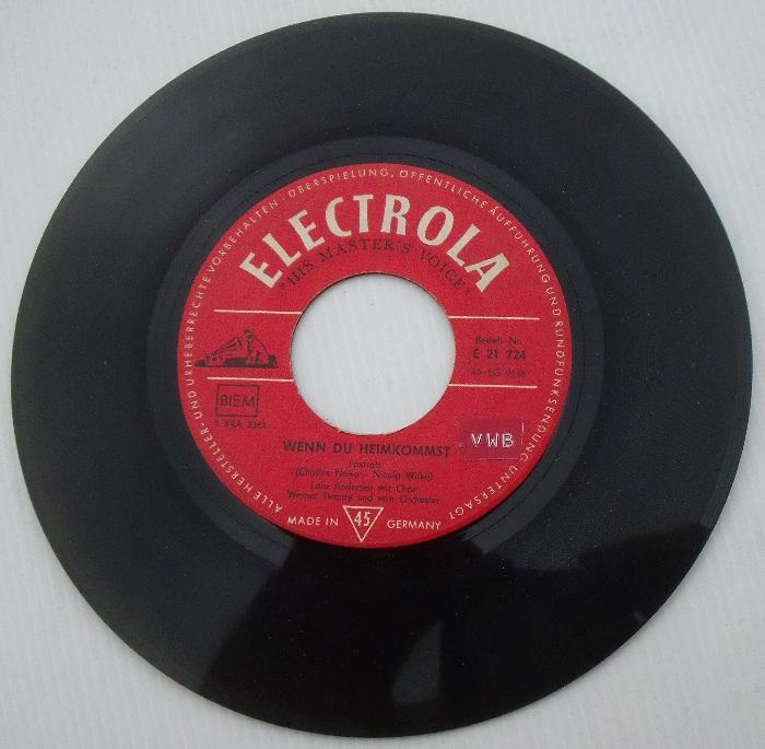 Lale andersen matrosen aus pyr us 7 rarit t ebay - Collection de vinyle ...